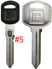 NEW GM OEM D. Sided VATS Ignition Key #5 + Doors/Trunk OEM Key - MADE IN USA