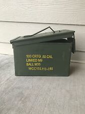 Ammo can US Military M2A1 Metal storage can 50Cal.
