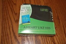 Beth Moore - A Heart Like His - 11 Audio CD Set & Printable Listening Guide NEW