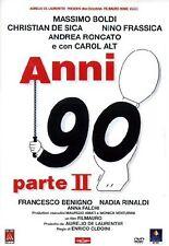 FILM DVD - ANNI 90 PARTE II 2 - Nuovo!!