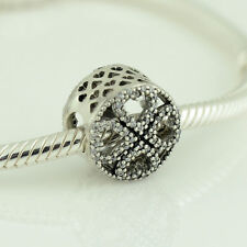 Pandora Silver Petals of Love with Clear Cz Charm - 791808CZ