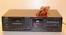 JVC KD-W55 Double Cassette Deck Player Stereo Vintage