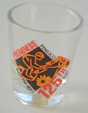 2000 Preakness Stakes 125 Horse Racing Souvenir Clear Shot Glass - New