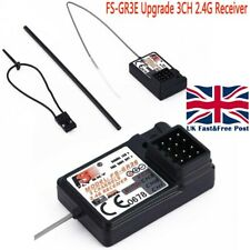 UK FLYSKY The Standard FS-GR3E 2.4Ghz 3-Channel Receiver for Rc Car Auto Boat