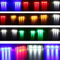 2 3 4 6 LED Car Flashing Emergency Warning Strobe Light Bar Lamp Wireless Remote