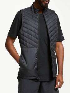 Nike Aerolayer Thermal Men`s Running Gillet Full-Zip Black CJ5478 010