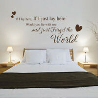 But My Darling What If You Fly Quote Wall Art Decal Sticker Q166 What If I Fall