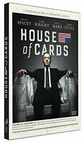 COFFRET DVD SERIE DRAME THRILLER : HOUSE OF CARDS - SAISON 1 - KEVIN SPACEY