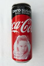 GENUINE STAR WARS REY COCA-COLA COKE ZERO 330ML COLLECTOR'S CAN GERMANY