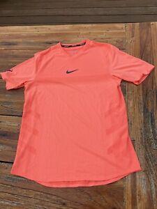 Nike Tennis Shirt Aeroreact, Nadal, Federer, Gr. M, Top