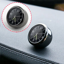 Car Vehicle Front Dashboard Air Vent Metal Clock Interior Accessories Part Trim