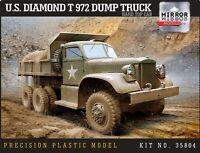 Mirrir Models #35804 1/35 US DIAMOND T 972 DUMP TRUCK Hard Top Cab