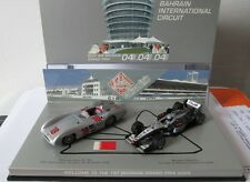 F1 1/43 MERCEDES W196 FANGIO & MCLAREN MP4/14 MERCEDES COULTHARD MINICHAMPS