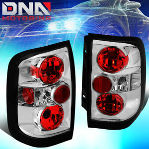 FOR 1996-2004 NISSAN PATHFINDER/INFINITI QX4 CHROME HOUSING ALTEZZA TAIL LIGHTS