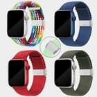 Braided Solo Loop Nylon Elastic Strap Band For Apple Watch Series 6 5 38/40/42/4 <br/> ✅Series 7 6 5 4 3 2 1 SE✅Buckle✅One Size For All Wrists