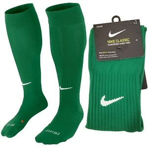 Nike Classic Cushioned Knee High Over The Calf Soccer Socks Green SX5728-302 OTC