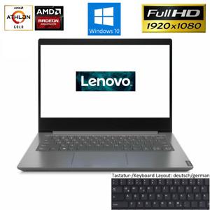 Lenovo V14 Notebook 14 Zoll AMD 3150U @3,30GHz 8GB DDR4 512GB SSD FHD Win10 Home