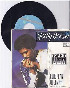 "Billy Ocean, European Queen, G/VG  7"" Single 0998-6"