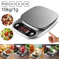 10Kg/1g Accurate Digital Kitchen Food Scale Gram Electronic Stainless g/LB/OZ