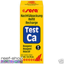 Sera Calcium Ca Test Kit Refill 15mL (0.5 oz) Reagent 3 Free Usa Shipping!