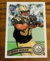2011 Topps #426 Mark Ingram RC -  Saints