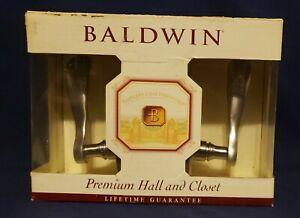 Baldwin WAVE LEVER Passage Premium Hall and Closet Set * 95455.150.PASS (6)