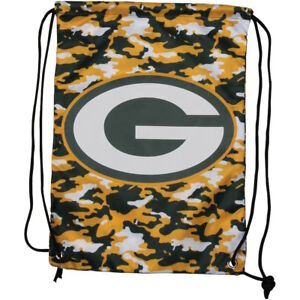 Green Bay Packers NFL Drawstring Camouflage Backpack Backsack