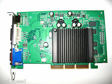 nVIDIA GeForce 512MB AGP 4X 8X Single Slot Full Size HD Video Graphics VGA Card