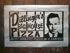 "(686) GANGSTER DILLENGER'S BIG HOUSE PRISON PIZZA DEATH ROW CRIME POSTER 11""x17"""