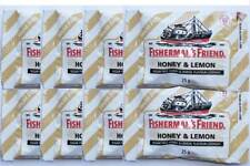 Fisherman's Friend Sugar Free Honey  Lemon Relief Cough throat Lozenges 25 g x 8