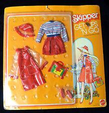 Vintage Barbie 1977 Skipper GUAG Fashion Ready Set For When It's Wet  MOC