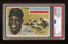1956 Topps Set Break #130 - Willie Mays PSA 5 EX