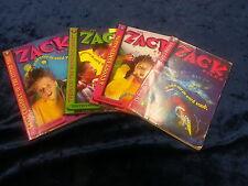1-4 THE ZACK FILES BOOKS by DAN GREENBURG ** UK POST £3.25 ** PAPERBACKS