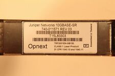 JUNIPER NETWORKS 10GBASE-SR 740-011571 REV 03