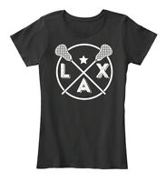 Vintage Lacrosse Apparel - Lax Women's Premium Tee T-Shirt