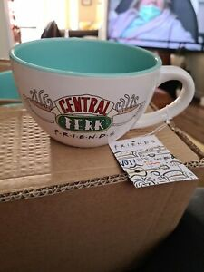 Friends TV Show Central Perk Cappuccino Mug Large Cup Tea Coffee Brand New BNWT
