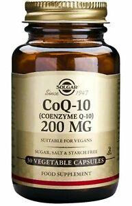 Solgar Vegetarian CoQ10 200 mg  30 Vegetarian Capsules FREE POST EX DATE JAN 21