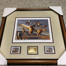Robert Steiner 1996 Oregon Duck Stamp (Framed Medallion Print)