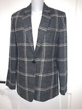 Ralph Lauren 100% Pure Wool  Plaid Blazer Jacket~4~Beautiful