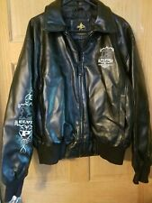 Elvis Presley faux Leather Jacket