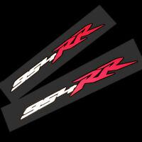 954RR Reflektierend Motorrad Aufkleber Grafik Sticker Weiß Rot, Schwarz