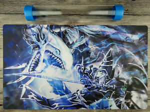 Blue-Eyes White Dragon & Dark Magician YuGiOh Playmat Free High Quality Tube