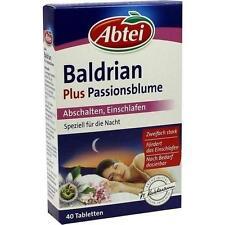 ABTEI Baldrian plus Passionsblume ueberzogene Tab. 40St 6765330