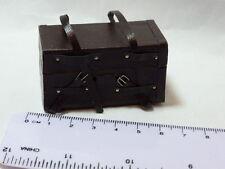 1:12 Estilo Vintage tronco no apertura Casa De Muñecas En Miniatura