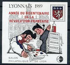 STAMP TIMBRE FRANCE NEUF BLOC FEUILLET C.N.E.P.  N° 11 * LYONNAIS COTE 48 €