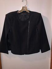 BCBG Max Azria Womens Emerson Black Winter Cape Coat Outerwear M BHFO 3159