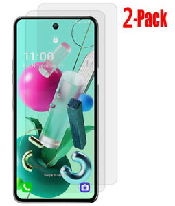 2X For LG K92 5G 9H Hardness High Clear Tempered Glass Screen Protector