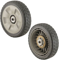 Lawn Mower Parts Full Size Rear Wheel For 42710-VE2-M01ZE 42710-VG3-B00 2-Pack