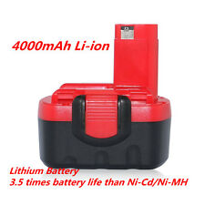4000mAh Li-ion Replacement Battery For Bosch BAT038 BAT040 GSR 14.4 V PSR 14.4VE