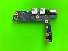 HP ENVY 17T-U100 17-U 17-U163CL Power Button ON/OFF USB Board LAN 6050A2839001